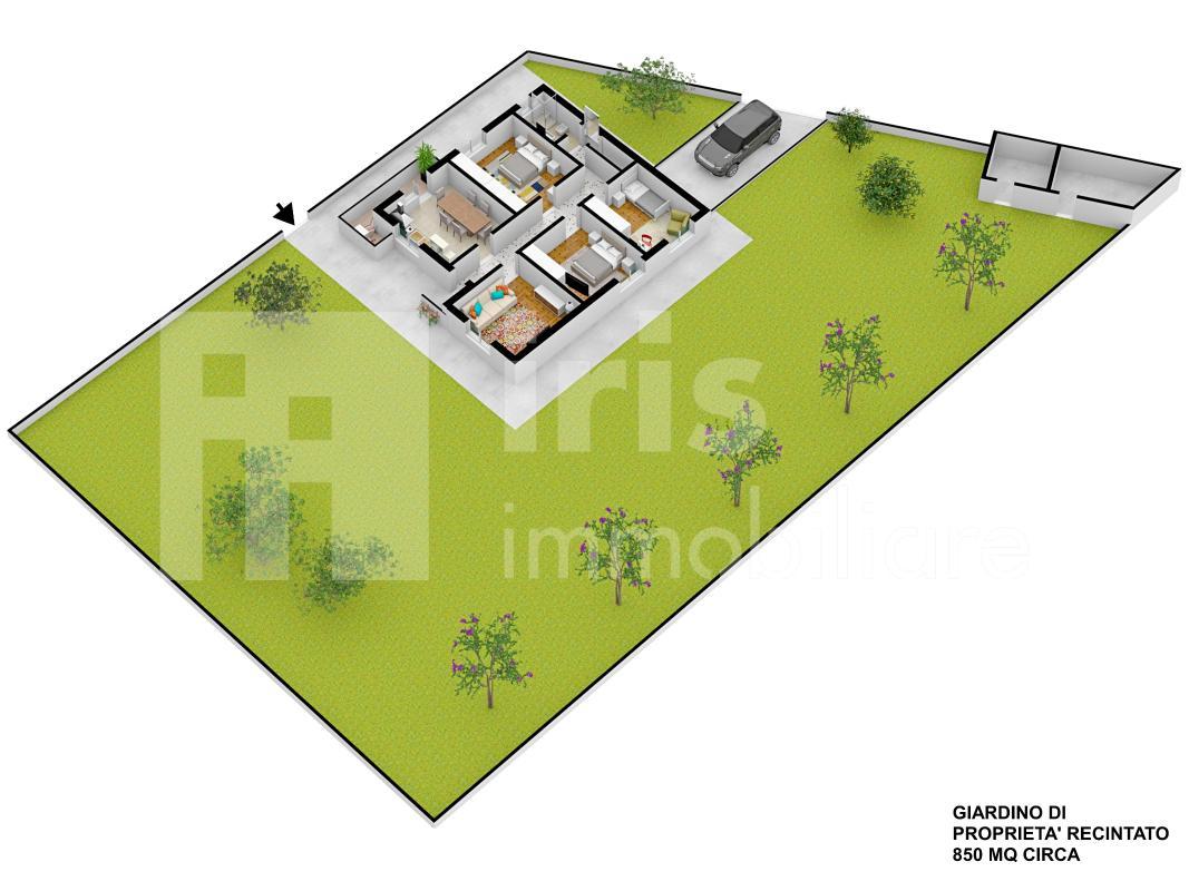 Bicinicco - giardino